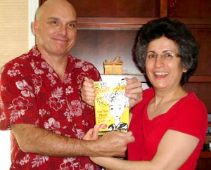 Photo of Brenda Avadian and Eric Riddle