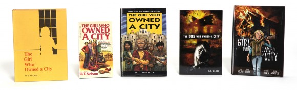 The Girl Who Owned a City Covers
