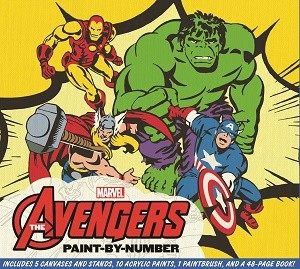 Marvel The Avengers Paint-by-Number Image1_NeedsCopyright_MARVEL