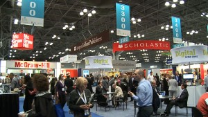 A look at the BookExpo show floor