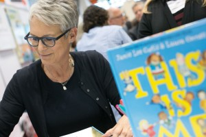Jamie Lee Curtis was one of the many celebrity authors at BEA.