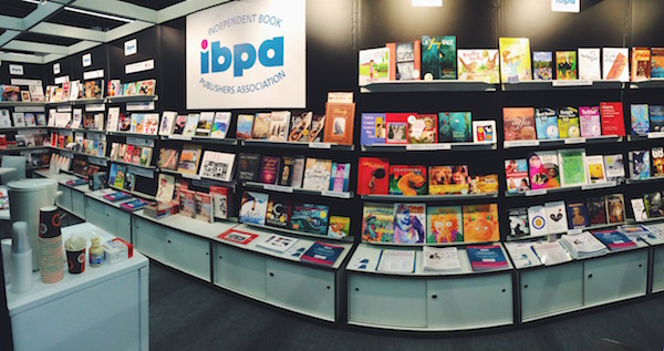 IBPA Cooperative Booth @ the 2015 Frankfurt Book Fair